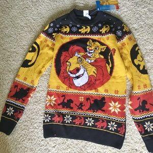 Lion king fair isle sweater